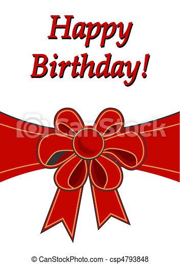 생일, 행복하다 - csp4793848