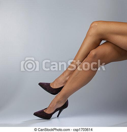 성적 매력이 있는, 다리 - csp1703614