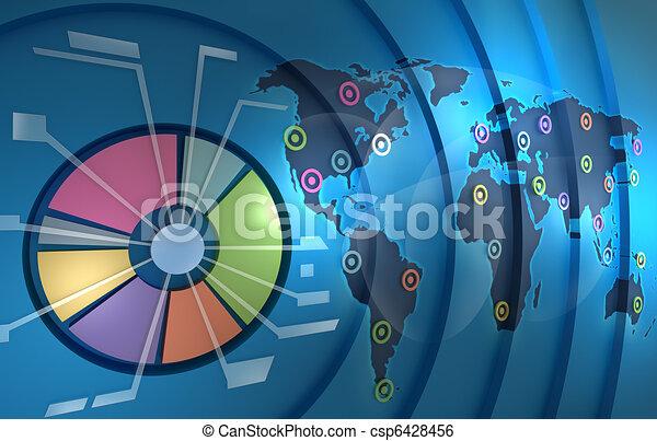 세계, 배경, resources.business - csp6428456