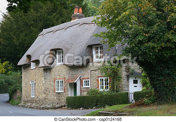 시골집, 나라 - csp0124168