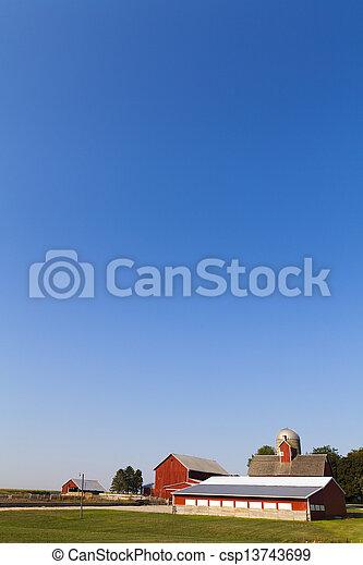시골, 미국 영어 - csp13743699