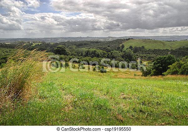 시골, 오스트레일리아 사람 - csp19195550