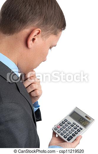 실업가, 계산기 - csp11219520