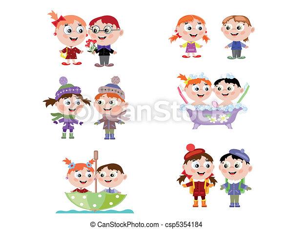아이들 - csp5354184
