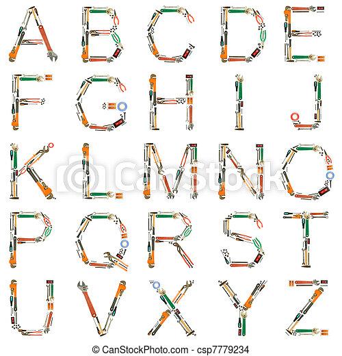 알파벳, 도구 - csp7779234