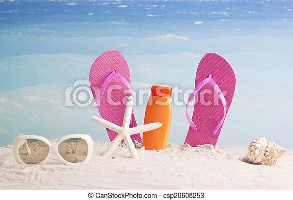 여름, 배경 - csp20608253