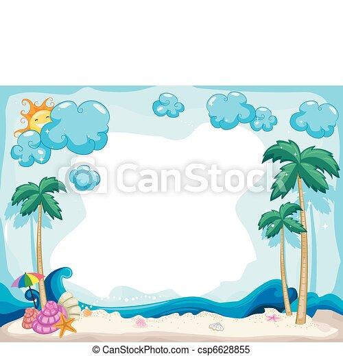 여름, 배경 - csp6628855