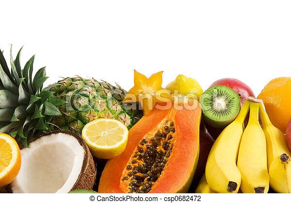 열대 과일 - csp0682472