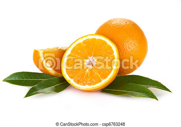 오렌지, 과일 - csp6763248