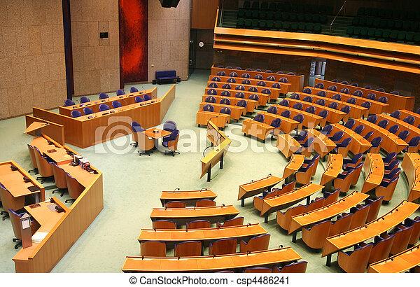 의회, 네덜란드어 - csp4486241
