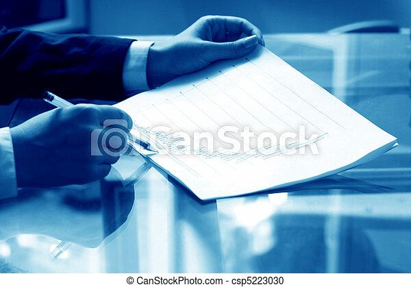 읽다, 보고, 재정 - csp5223030