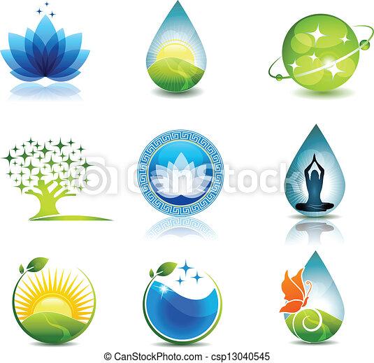 자연, 건강 관리 - csp13040545