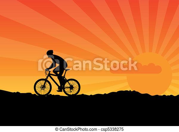 자전거 - csp5338275