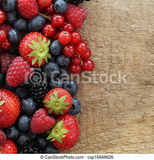 장과, 과일 - csp16946626