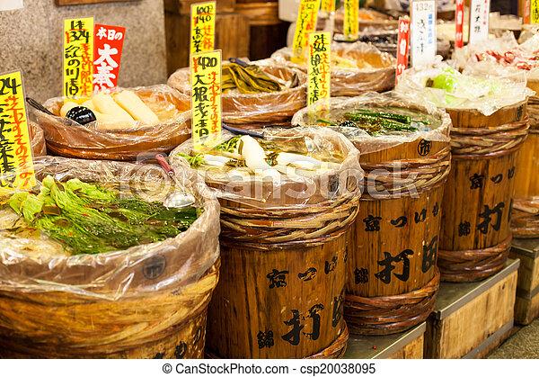 전통적인, japan., 시장 - csp20038095