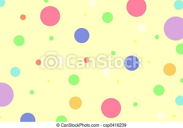 점, 폴카 - csp0416239