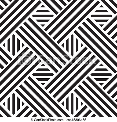 정방형, 패턴, 벡터, seamless, 삽화 - csp15806455