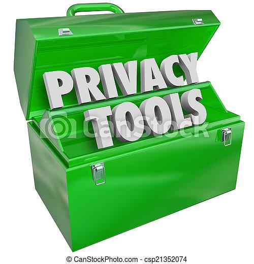 정보, 은둔, 물건과 구별하여 사람의, 자료 보호, 도구, 자원 - csp21352074