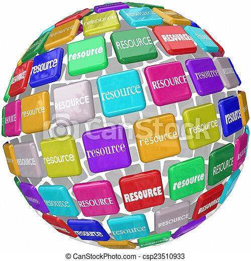 정보, 타일, 낱말, 기술, 지구, kn, 접근, 중요하다, 자원 - csp23510933