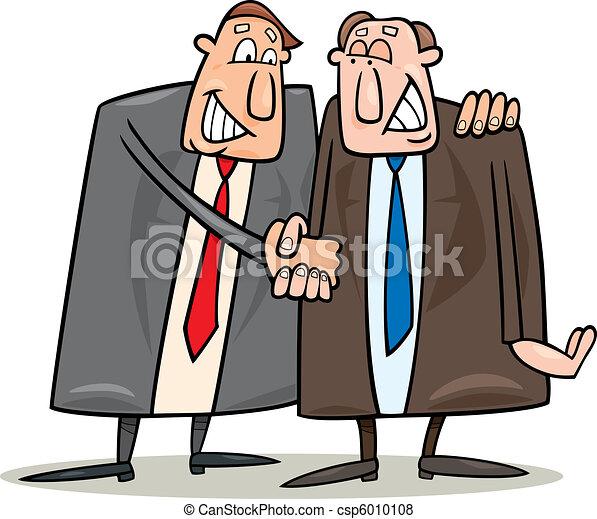 정치, 동의, 협정, 계약 - csp6010108