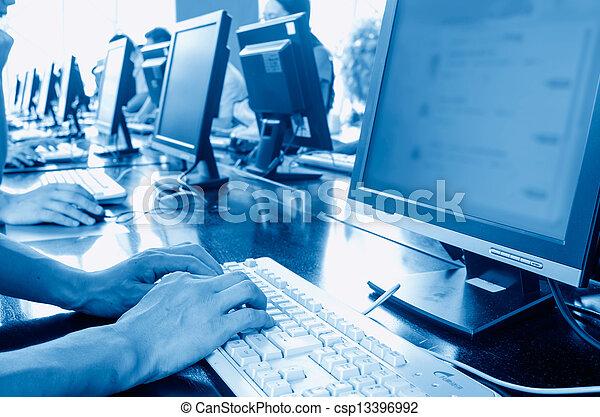 컴퓨터, 도서관 - csp13396992