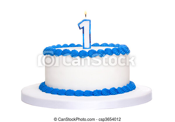 케이크, 생일 - csp3654012