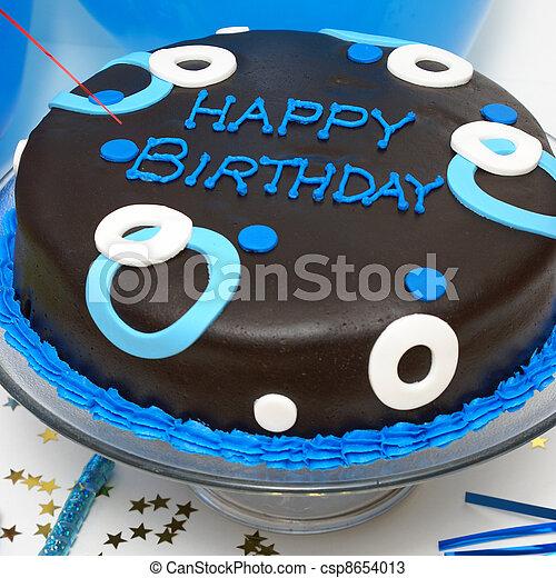 케이크, 생일 - csp8654013