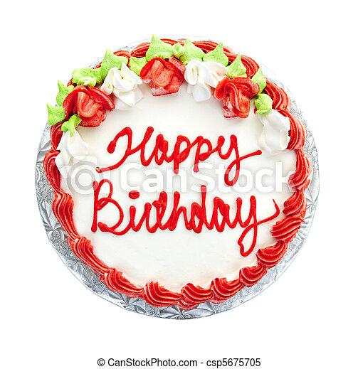 케이크, 생일 - csp5675705