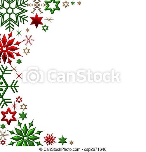 크리스마스, 배경 - csp2671646