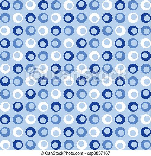 파랑, 점, retro - csp3857167