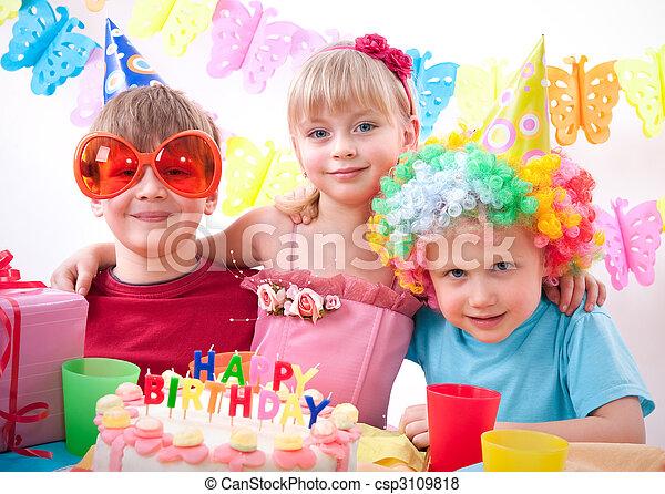 파티, 생일 - csp3109818
