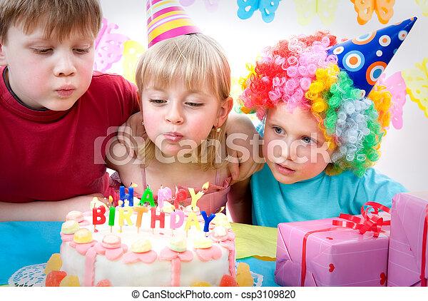 파티, 생일 - csp3109820