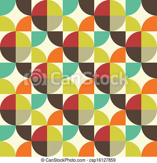 패턴, 떼어내다, seamless - csp16127859
