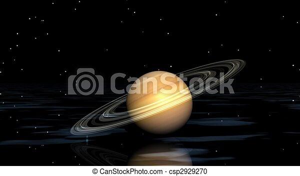 행성, 토성 - csp2929270