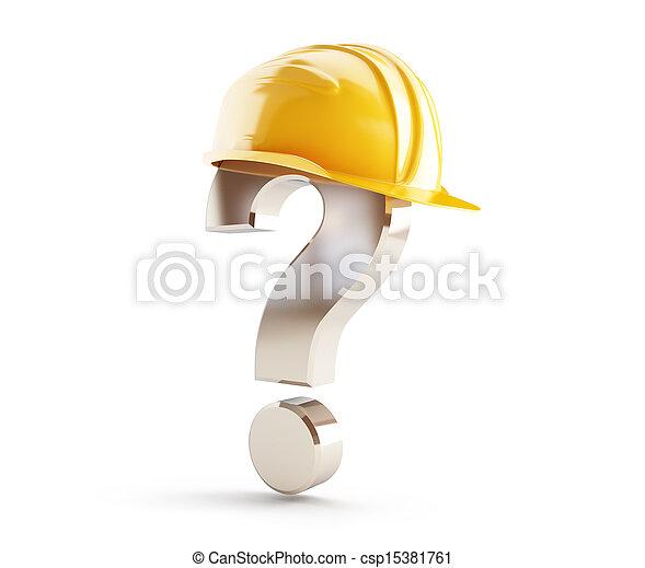 헬멧, 해석, 물음표 - csp15381761