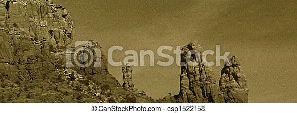 협곡, 아리조나, sedona - csp1522158