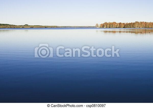 호수, automn - csp0810097