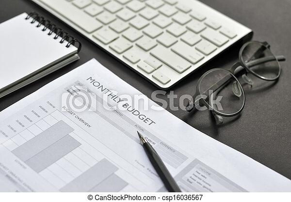 회계, 재정 - csp16036567