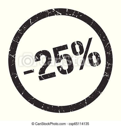 -25% stamp - csp65114135
