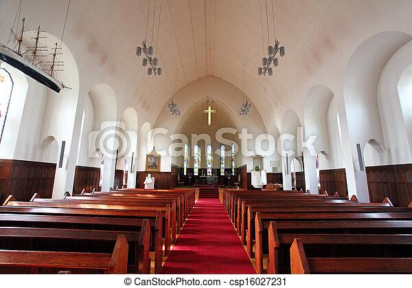 Akureyrarkirkja, la iglesia de Akureyri - csp16027231