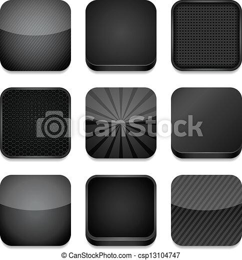 -, app, schwarz, heiligenbilder - csp13104747
