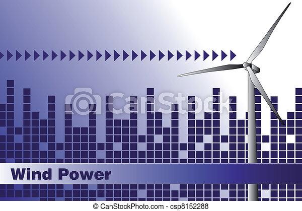 -, cartão, cobertura, folheto, energia, negócio verde, ou - csp8152288