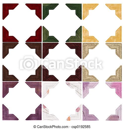 -, couleurs, coins, photo - csp0192585