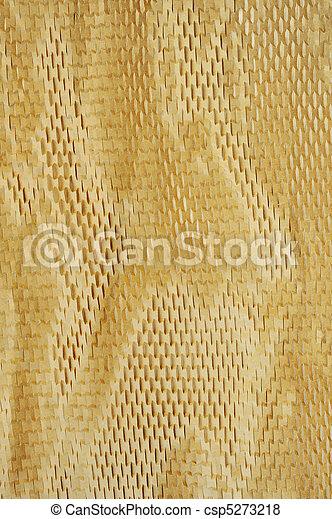 Detalle de textura de papel empaquetado, fondo - csp5273218