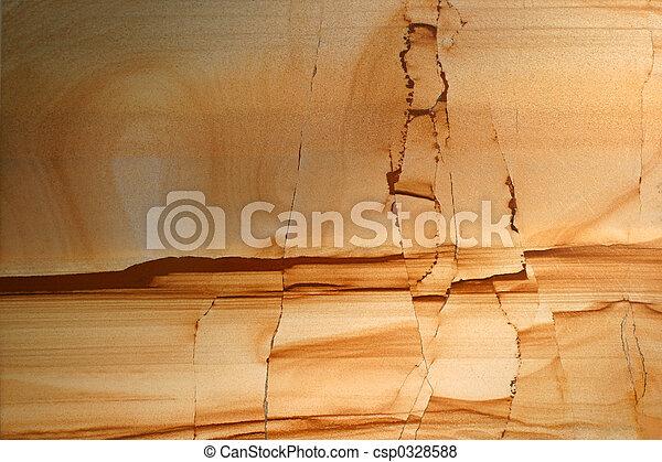 -, fraturas, silt, pedra - csp0328588