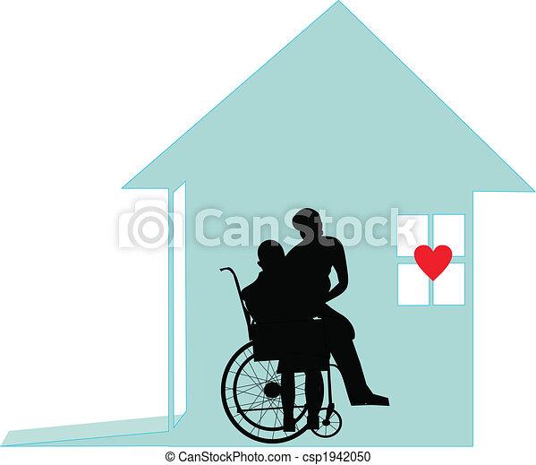 -, honneur, soin, dignité, maison - csp1942050
