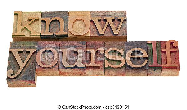 -, lettepress, ty sám, poznat, litera - csp5430154