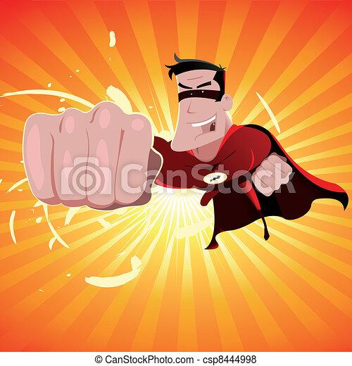 Superhéroe, hombre - csp8444998