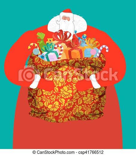 Geschenke Russland Weihnachten.National Sack Children Spielzeuge Khokhloma Leute Vater Babys Neu Weihnachten Rotes Frost Groß Abbildung Geschenke