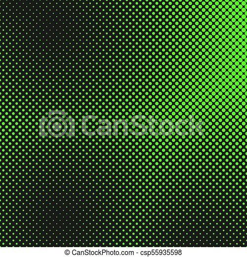 -, padrão, vetorial, modelo, ponto, fundo, halftone, gráfico - csp55935598